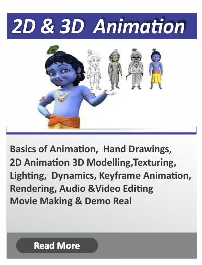 3D Animation and vfx course in bangalore